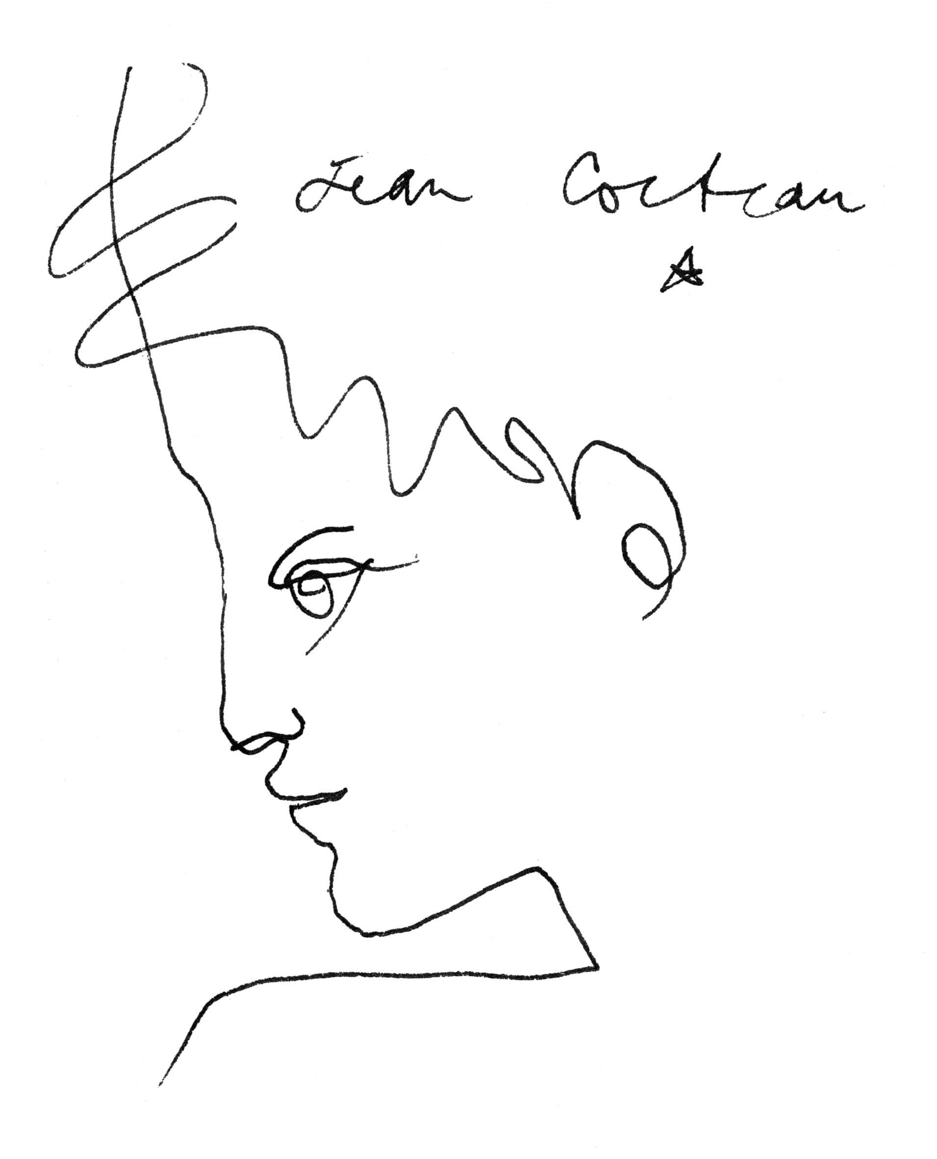 Jean Cocteau, Profil de jeune homme